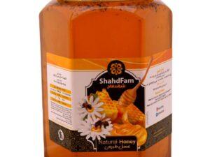 عسل طبیعی دو کیلویی